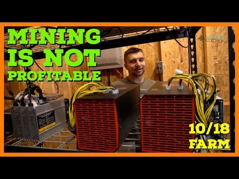 GPU Mining Is NOT Profitable In My HOUSE - VoskCoin October 2018 Mining Farm Update