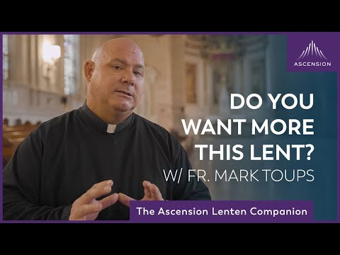 What Do You Want This Lent? | Ash Wednesday