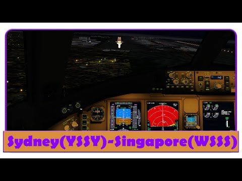 [FSX] BAW16 | Sydney-Singapore | Aborted takeoff, thunderstorm, Go-around | Group Flight |