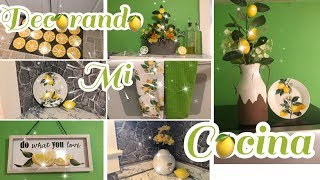 DECORANDO MI COCINA 🍋 DECORANDO CON LIMONES 🍋 DECORACION 2019🍋DECORACION DE VERANO 2019