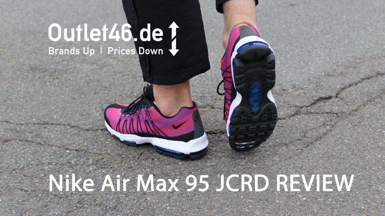les ventes chaudes b0fa9 d9d30 NIKE Air Max 95 Ultra JCRD DEUTSCH l Review l On Feet l Haul l Overview l  Outlet46