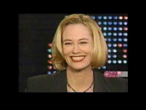 Cybill Shepherd on Larry King 1990