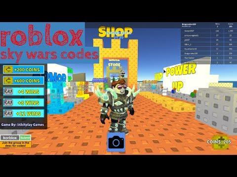 Code For Skywars On Roblox You Skywars Roblox Codes Youtube