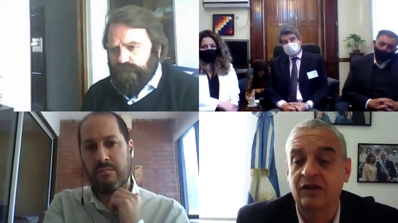 Brunoto/subsecretario de Asuntos Penales, Esteban Zaracho