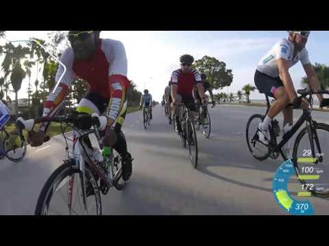 Key Biscayne Group Ride 2.5 Laps 04-16-16 | Work work work