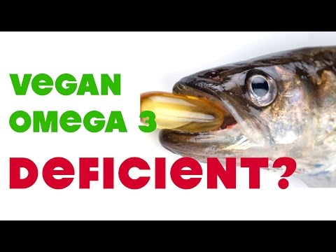 Quitting Vegan Because I'm Deficient in Omega 3 DHA?