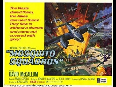 Mosquito Squadron is listed (or ranked) 22 on the list The Best Aviation Movies