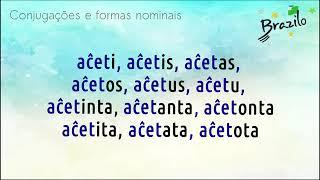AĈETI verbo em Esperanto