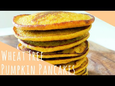 Easy Gluten Free Pumpkin Pancakes | HEALTHY RECIPE | Baby Led Weaning 6 months+