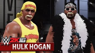 WWE 2K16 Community Showcase: Hulk Hogan (Xbox One)