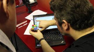 New 2011 Guinness World Record Breaking Rubik's Cube Robot | WIRED