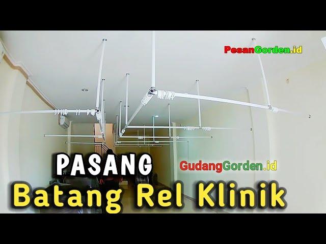 Gorden Bekasi | Pasang Rel Gorden Klinik / Spa 082310989451 #gudanggorden