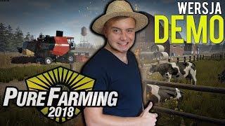 Bronczek w Pure Farming 2018?! ✓ [ Testy najnowszego DEMO ] ツ Budowa obory i innych budynków