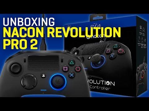 Unboxing Mando profesionalNacon Revolution Pro 2 para PS4
