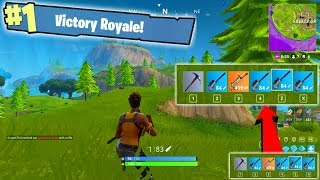 5 SNIPER RIFLE VICTORY ROYALE?!?! - Fortnite Battle Royale Gameplay