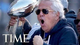 Patriots Owner Robert Kraft Charged With Soliciting Prostitution In Florida | TIME