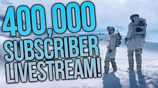 Star Wars Battlefront PC Gameplay - 400K Subscribers Livestream Celebration!