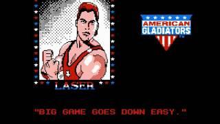 Jouons au NES en français! : American Gladiators