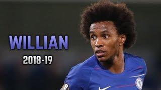 Willian Borges 2018-19  Dribbling Skills amp Goals