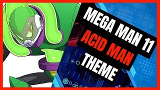The final Robot Master! Acid Man! ☠   ⚙⚙▽ This and a series of othe...