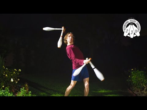 IJA Tricks of the Month by Devin Tucker from USA | Juggling Clubs from YouTube · Duration:  4 minutes 13 seconds