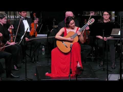 ARANJUEZ Guitar Concerto by Rodrigo  Zaira Meneses &  Irving Symphony