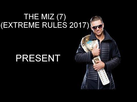 WWE Intercontinental Championship History (2017)