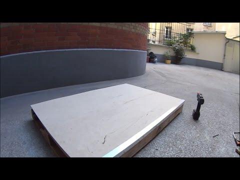 Hugo can build a DIY Skateboard ledge