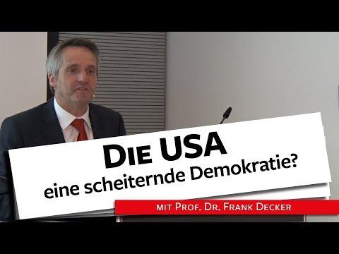Die USA: eine scheiternde Demokratie? - Prof. Dr. Decker, 01.04.19из YouTube · Длительность: 1 час13 мин33 с