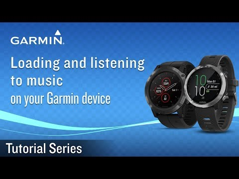 Tutorial - Loading and listening to music on your Garmin device