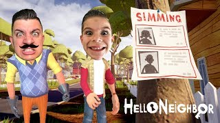 What Is He Hiding? HELLO NEIGHBOR | Act 1