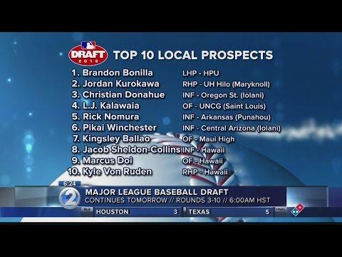 KHON2 2016 MLB Draft top prospect list
