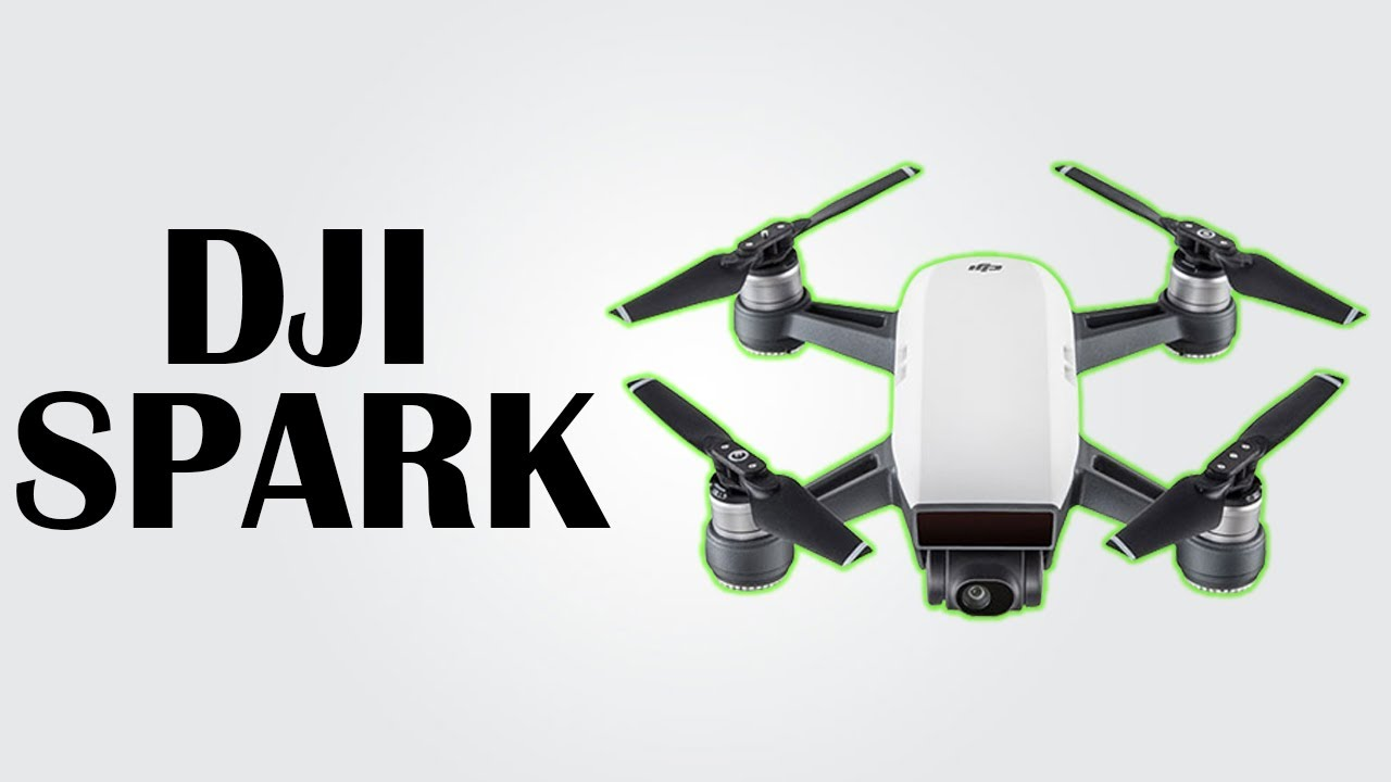 DJI SPARK - Mini drone with gesture recognition / Max speed 50kmph