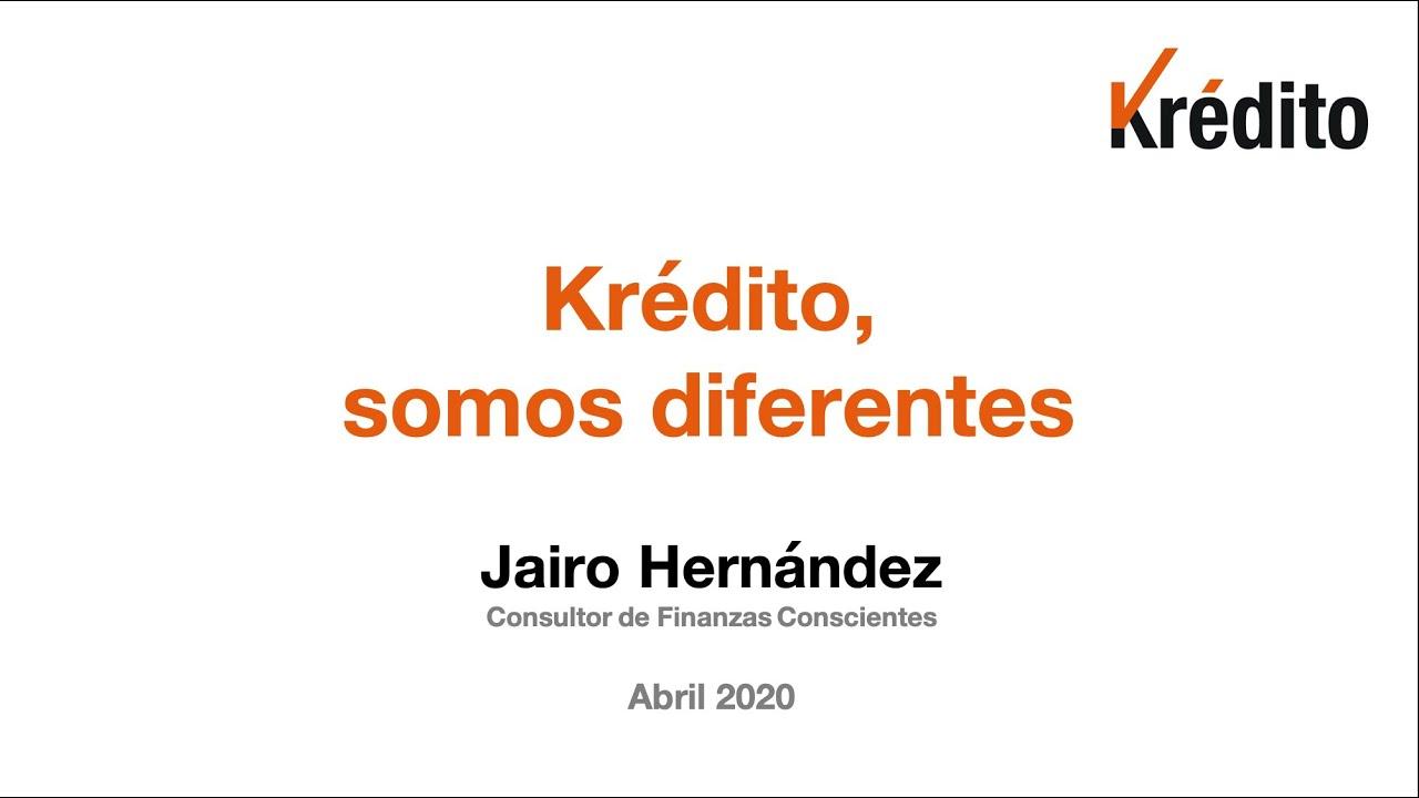 KREDITO, SOMOS DIFERENTES