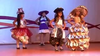 Высокая мода из мусорного ведра. Уссурийские дети участвовали в конкурсе необычных костюмов