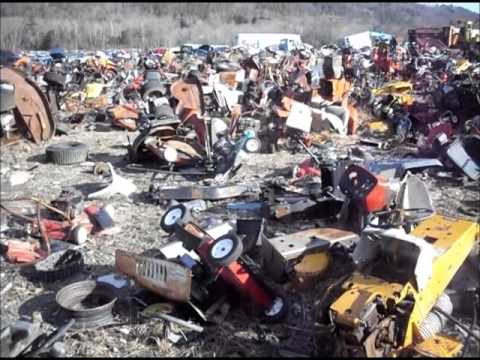 Lawn Mower Junk Yard