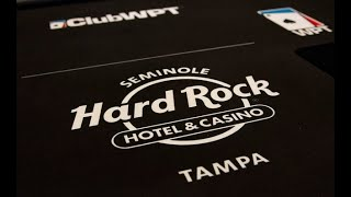 WPTDeepStacks Tampa - the Poker Room at Seminole Hard Rock Tampa