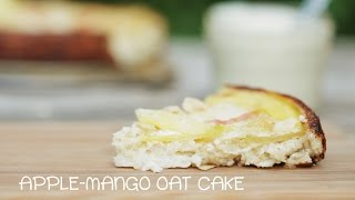 Apple-mango Oat Cake