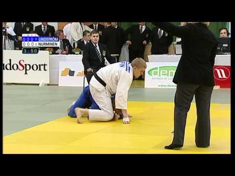 Juho Nurminen - Petja Lindström SM-judon 73 Kg:n Finaalissa 2.4.2011