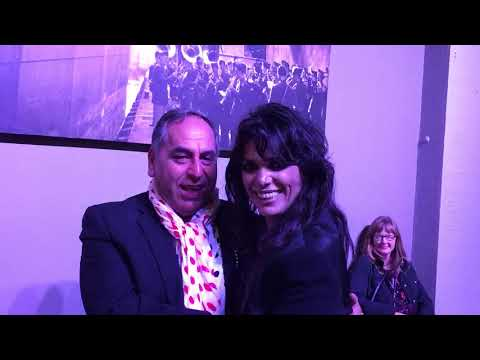 Yasmin Levy after the San Francisco performance