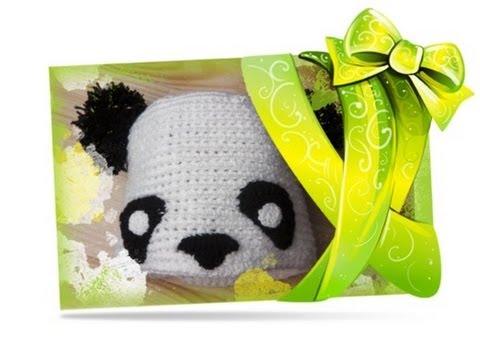 Adventskalender Türchen 14 Panda Mütze Häkeln Lernen Youtube