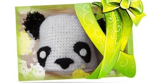 Adventskalender Türchen 14: Panda Mütze häkeln lernen