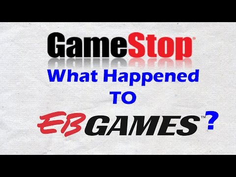 GameStop What Happened To EB Games