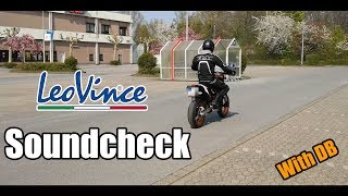 KTM SMCR 690 Leo Vince | Soundcheck | With DB Killer
