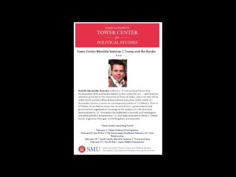 Monthly Seminar | President Donald Trump and the Border