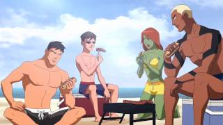 Video Young Justice - At the Beach download MP3, 3GP, MP4, WEBM, AVI, FLV November 2017