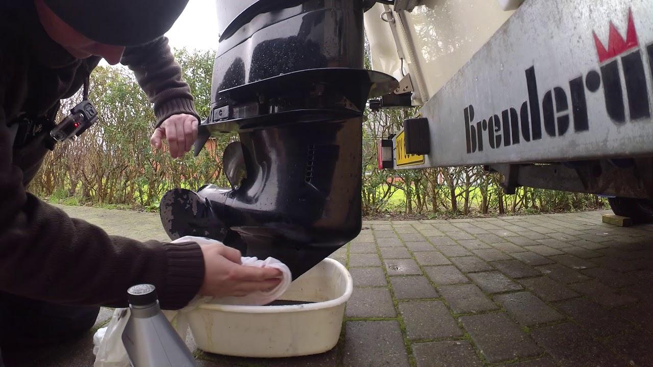 Rask Skift af gearolie på påhængsmotor - Mercury 115 HK EFI #2/6 - YouTube KD-08