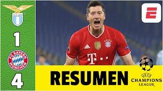Lazio 1-4 Bayern Munich. ¡A PURO RÉCORD! Los alemanes no perdonan. GOL de Correa. | Champions League