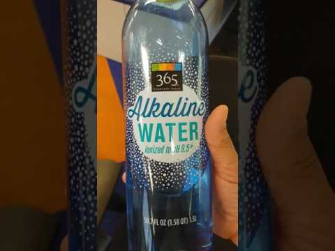 Whole Foods 365 Alkaline Water Review