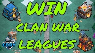 WIN IN CLAN WAR LEAGUES! MAXIMUM STAR STRATEGY 10 V 12, 10 V 11, 11 V 12 COC | CLASH OF CLANS